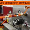 Gauge comparison configuration