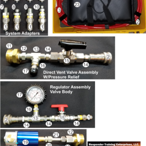 Compressed Natural Gas Kit/CNG Flare Kit Components
