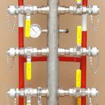 2-inch propane distribution manafold