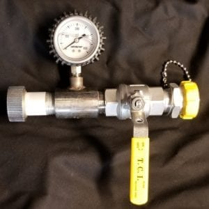 1″ SS ACME Pressure Gauge Assembly